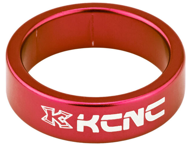 """KCNC Headset Spacer 1 1/8"""" 10mm rot"""